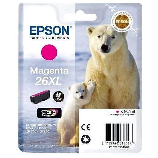 Epson T2633 purpurová - Cartridge