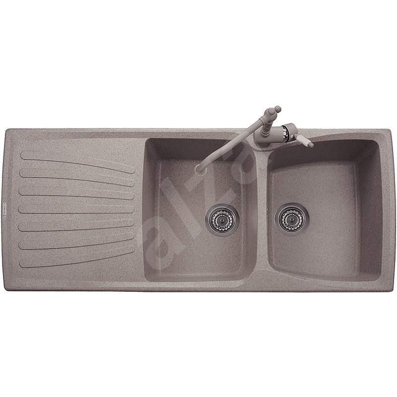 Sinks MATIS 1184 DUO Truffle - Granitový drez