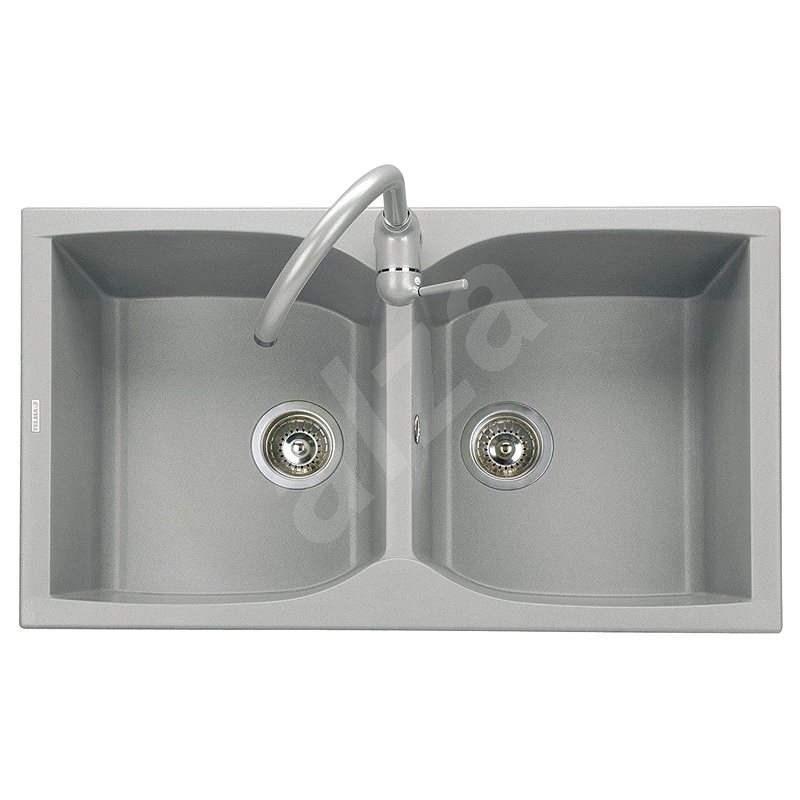 Sinks Naiky 860 DUO Titanium - Granitový drez