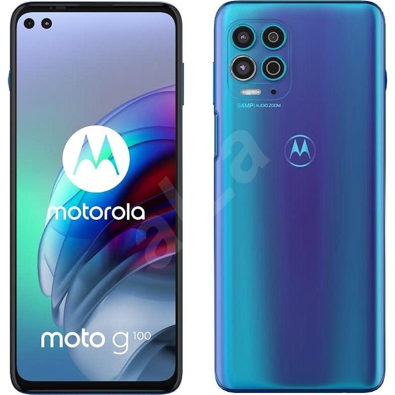 Motorola Moto G100 modrý - Mobilný telefón