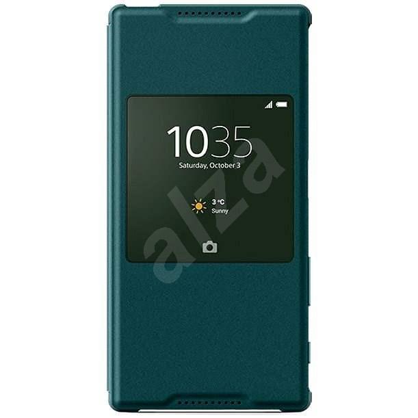 Sony flipový kryt SCR42 Smart Cover Green - Puzdro na mobil