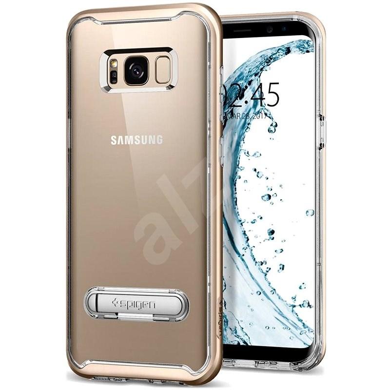 Spigen Crystal Hybrid Gold Maple Samsung Galaxy S8+ - Ochranný kryt