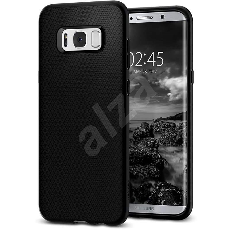 Spigen Liquid Air Black Samsung Galaxy S8 - Kryt na mobil
