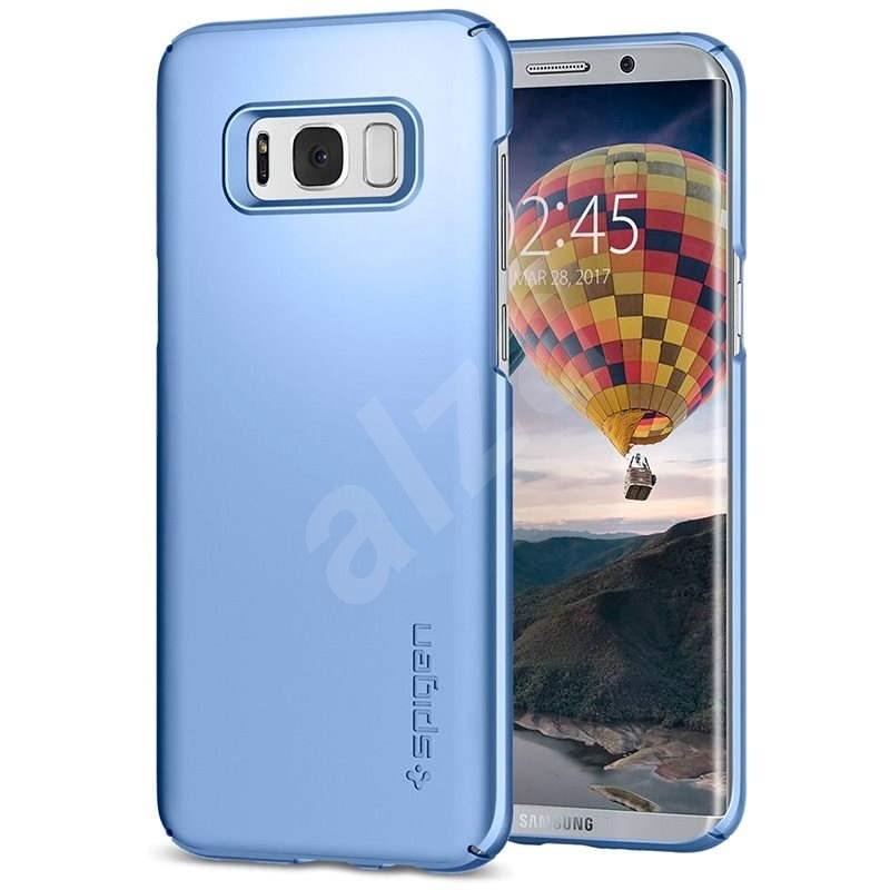 Spigen Thin Fit Blue Coral Samsung Galaxy S8 - Ochranný kryt