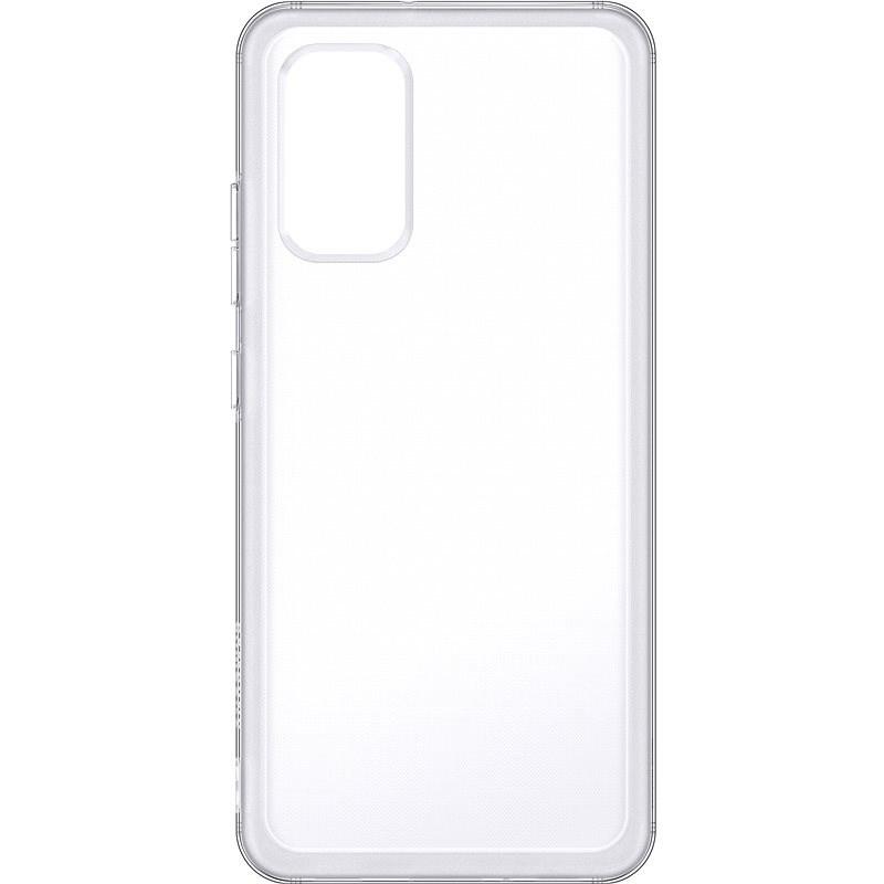 Samsung Polopriehľadný zadný kryt pre Galaxy A32 priehľadný - Kryt na mobil