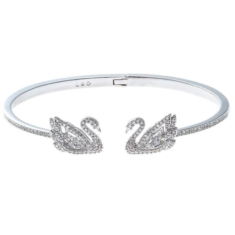 SWAROVSKI Dancing Swan 5534850 - Náramok
