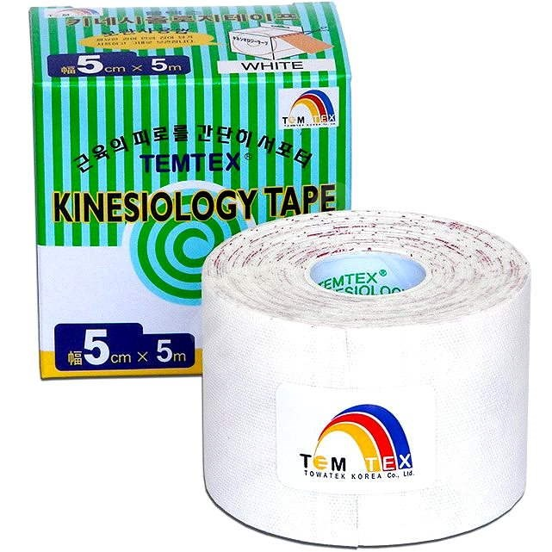 Temtex tape Classic biela 5 cm - Tejp