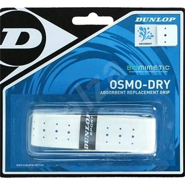 Dunlop Grip Osmo-Dry biely - Tenisový grip