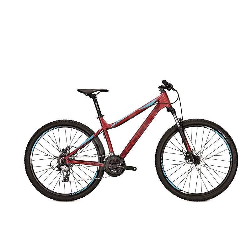 """Focus Whistler Elite Donna 27 Cherryred S / 40 (2017) - Horský bicykel 27,5"""""""