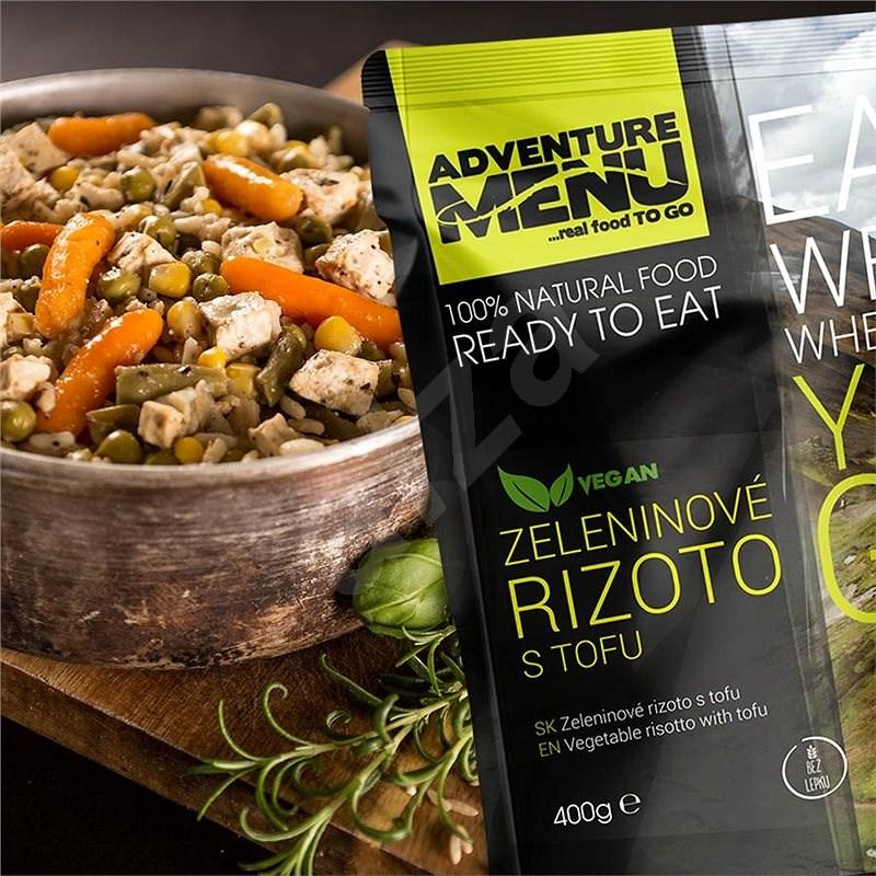 Adventure Menu Zeleninové rizoto s tofu - MRE