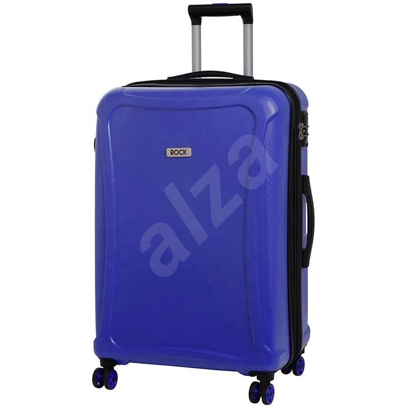 Rock Tectonic TR-0158/3-XL DUR - modrá - Cestovný kufor s TSA zámkom
