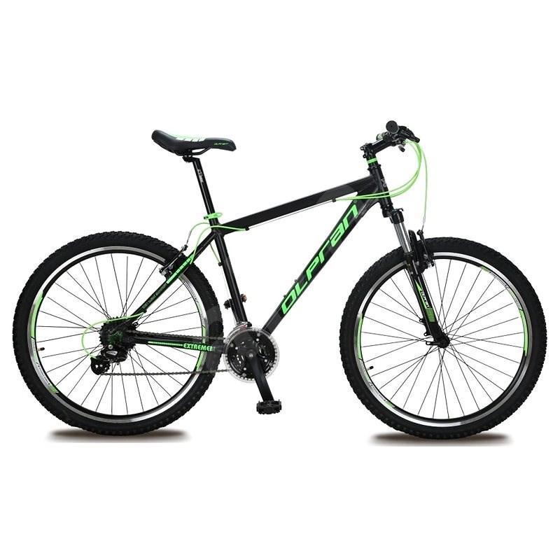 """Olpran Extreme 27,5 – S/17"""" čierna/zelená (2017) - Horský bicykel 27,5"""""""