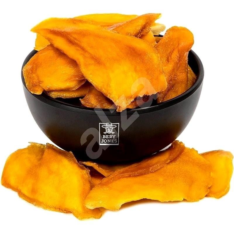 Bery Jones Mango plátky natural 500 g - Sušené ovocie