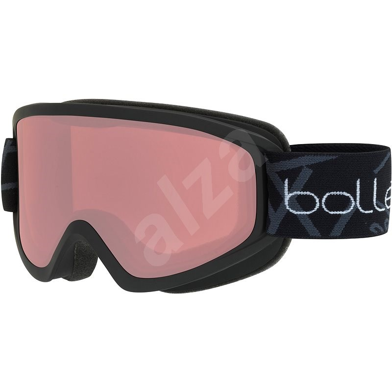 Bollé Freeze Black Matte Vermillon - Lyžiarske okuliare
