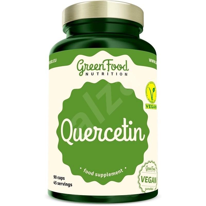 GreenFood Nutrition Quercetin 95 %, 90 kapsúl - Superfood
