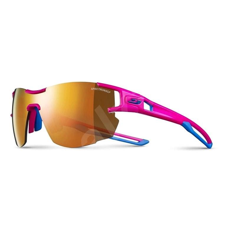 Julbo Aerolite SP3 CF pink/blue cyan - Cyklistické okuliare