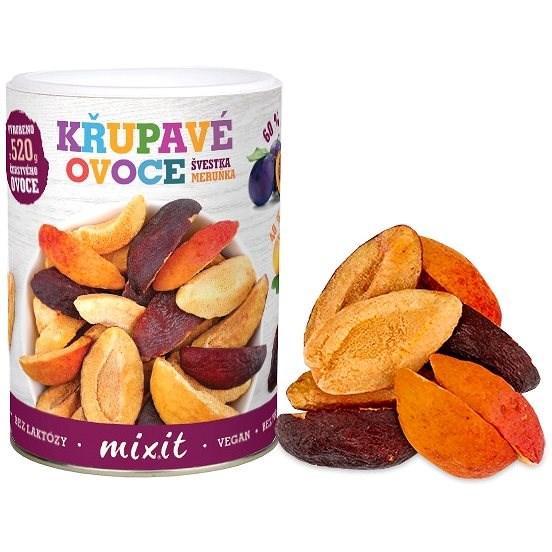 Mixit Slivka Marhuľa – Chrumkavé ovocie - Lyofilizované ovocie