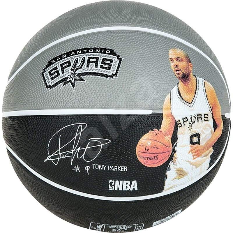 Spalding NBA prehrávač loptu Tony Parker veľkosti 7 - Basketbalová lopta