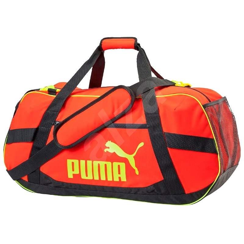 Puma Active TR Duffle taška M Red Bla - Športová taška