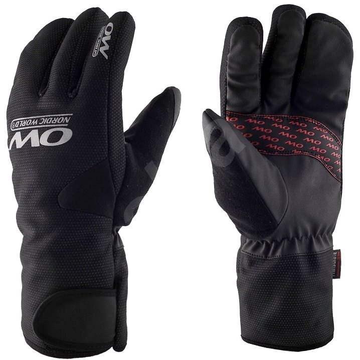 OW Tobuk 4-Finger Glove Black vel. 7 - Cyklistické rukavice