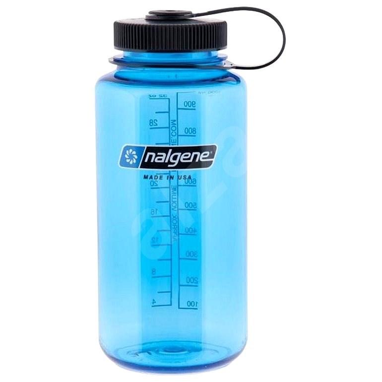 Nalgene Wide Mouth Blue 1000 ml - Fľaša na vodu