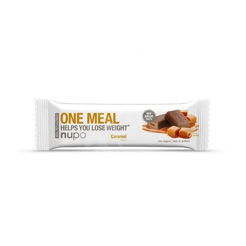 Nupo One Meal karamelová - Proteínová tyčinka