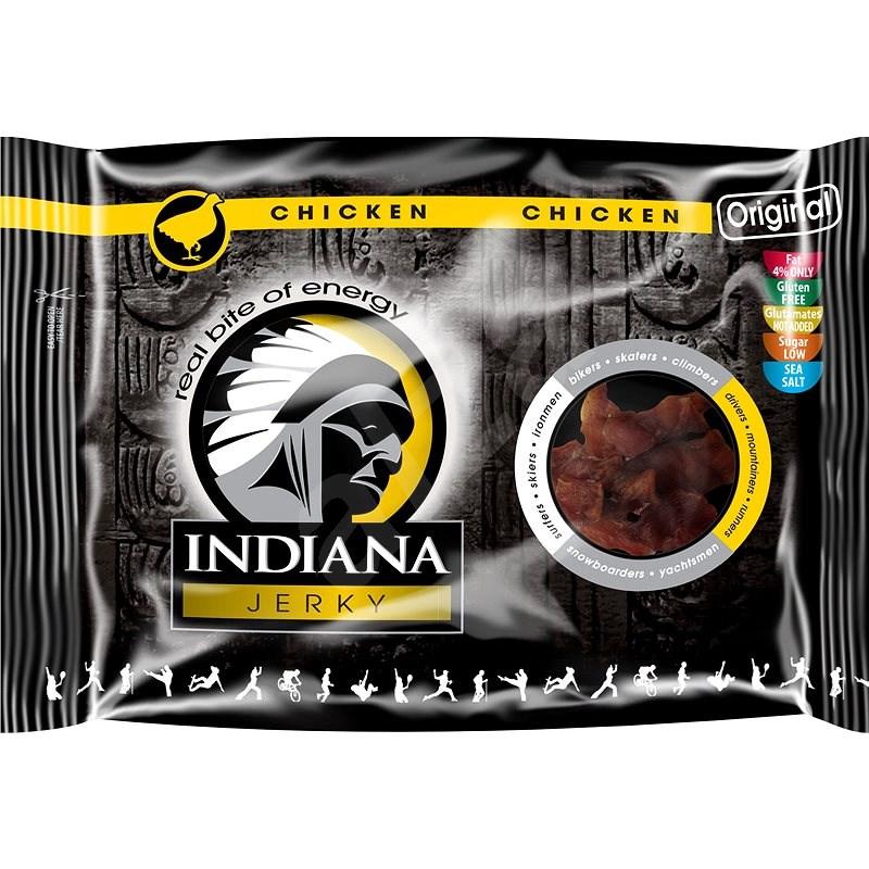 Indiana Jerky chicken Original 100 g - Sušené mäso