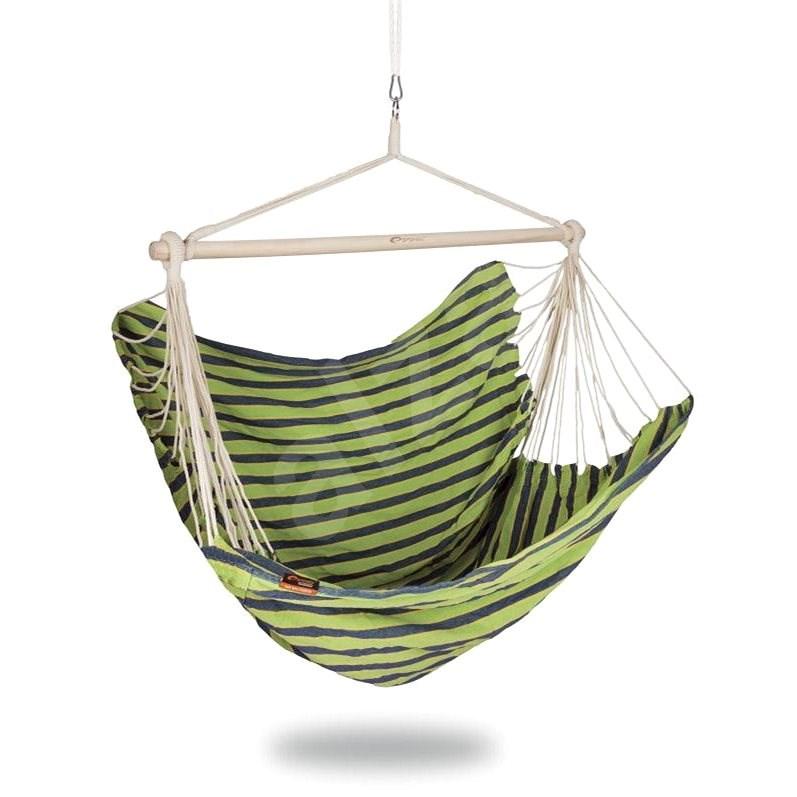Spokey Bench deluxe, zelená - Hojdacia sieť