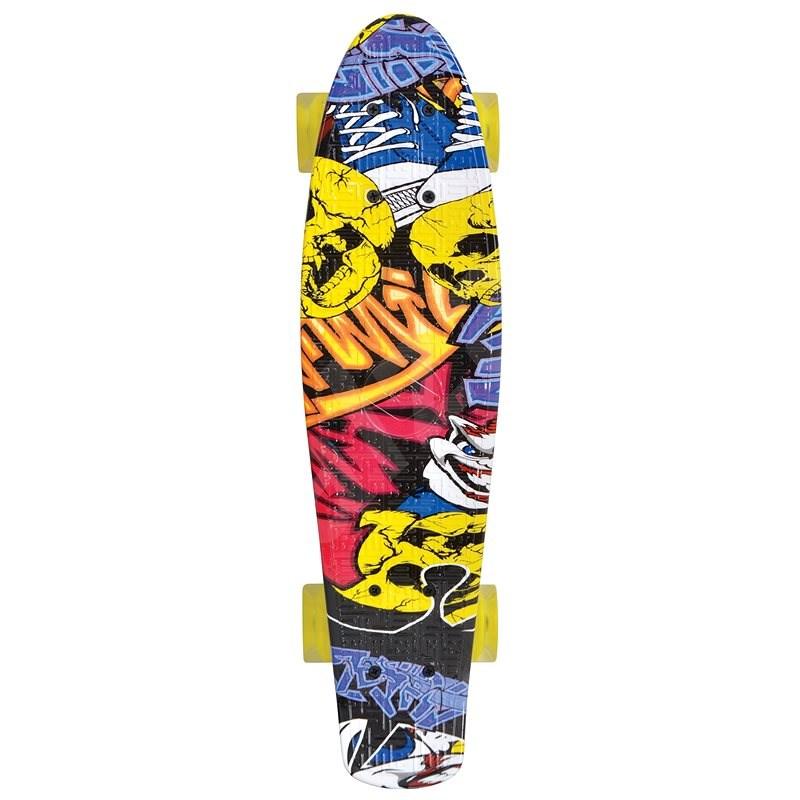Schildkröt Retro Skateboard Free Spirit Party - Skateboard