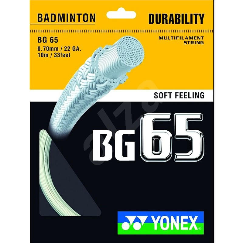 Yonex BG 65 black - Bedmintonový výplet