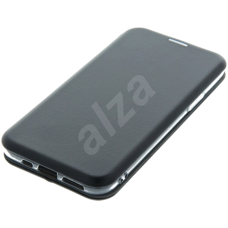 Swissten Shield book Samsung Galaxy J3 2016 čierne - Puzdro na mobil