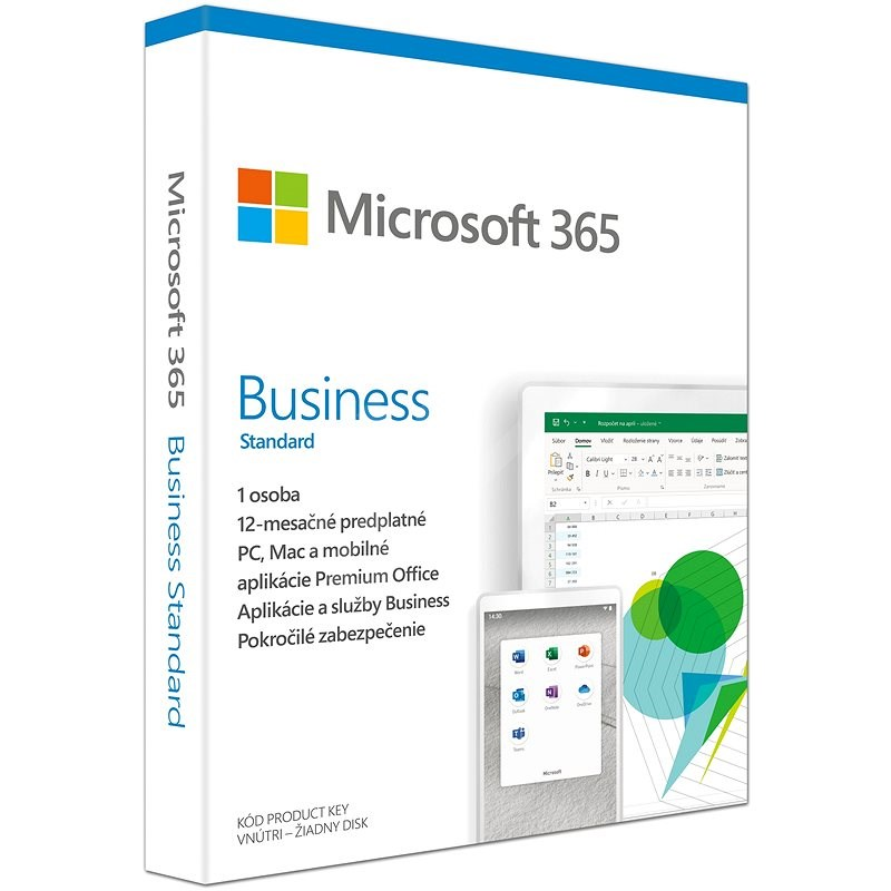 Microsoft 365 Business Standard SK (BOX) - Kancelársky softvér