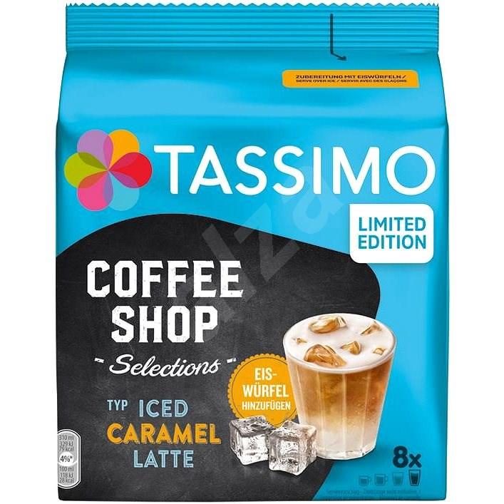 TASSIMO kapsuly Iced Caramel Latte 8 nápojov - Kávové kapsuly