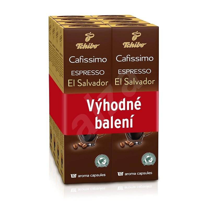 Tchibo Cafissimo Espresso El Salvador, 10ks x 8 - Kávové kapsuly