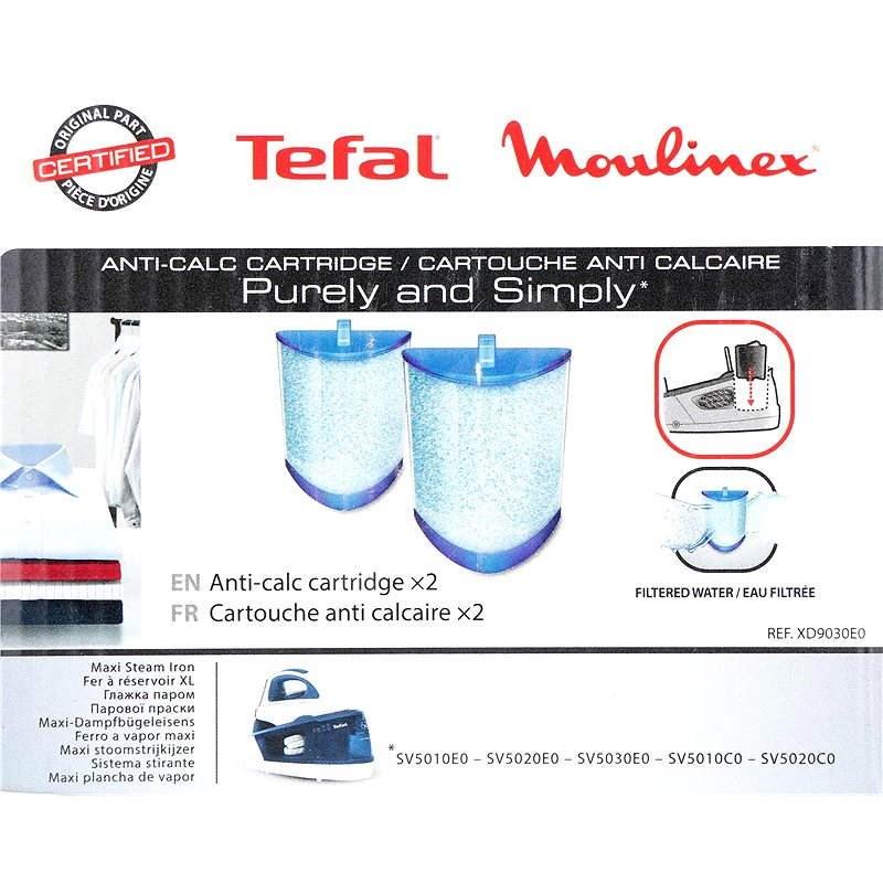 Tefal XD9030 Anti Calc Cartridge - Odvápňovač