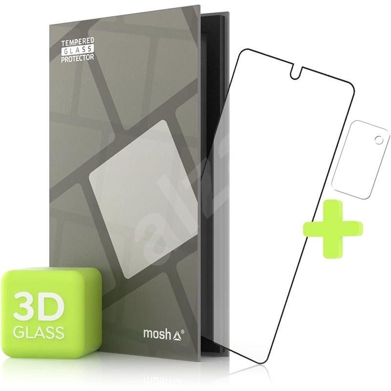 Tempered Glass Protector pre Samsung Galaxy Note 20 3D GLASS, Čierne + sklo na kameru - Ochranné sklo
