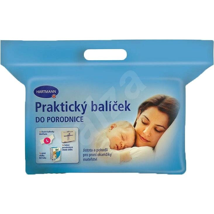 HARTMANN Praktický balíček do pôrodnice - Súprava do pôrodnice