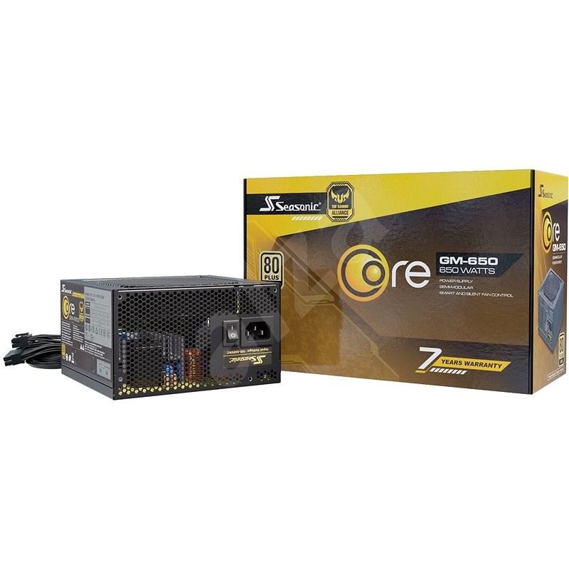 Seasonic Core GM 650 W Gold - PC zdroj