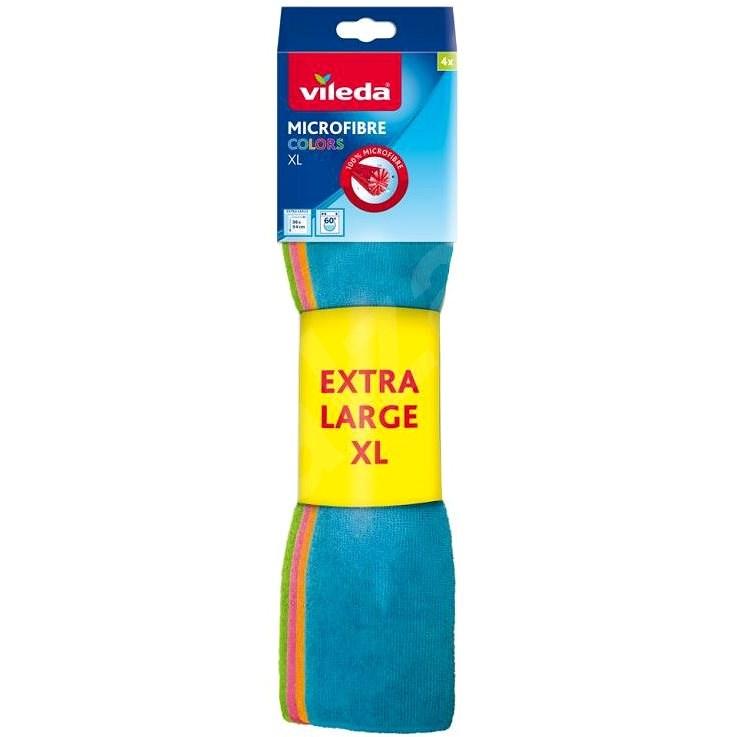VILEDA Mikrohandrička Colors XL (4 ks) - Handrička