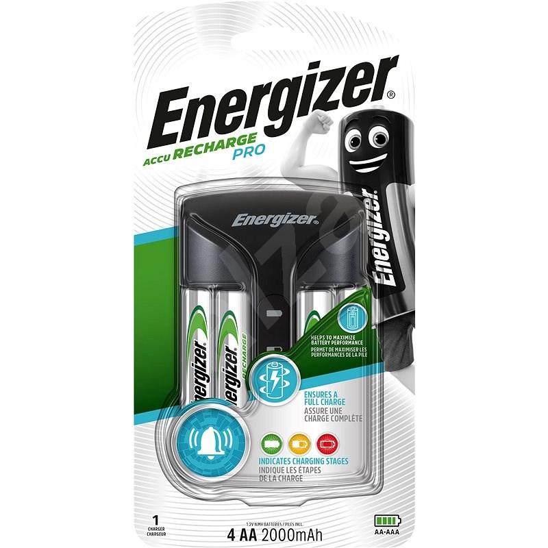 Energizer Pro Charger +4AA Power Plus 2000mAh - Nabíjačka batérií