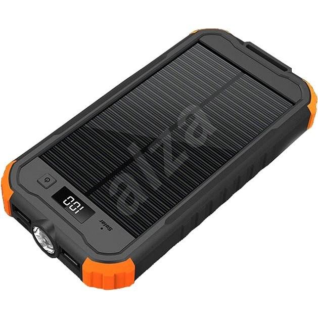 Viking Charlie II 12 000 mAh čierny–oranžový - Powerbank