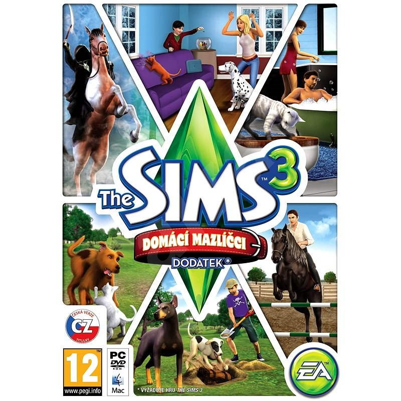 The Sims 3: Domáci Maznáčikovia (Pets) - Hra na PC