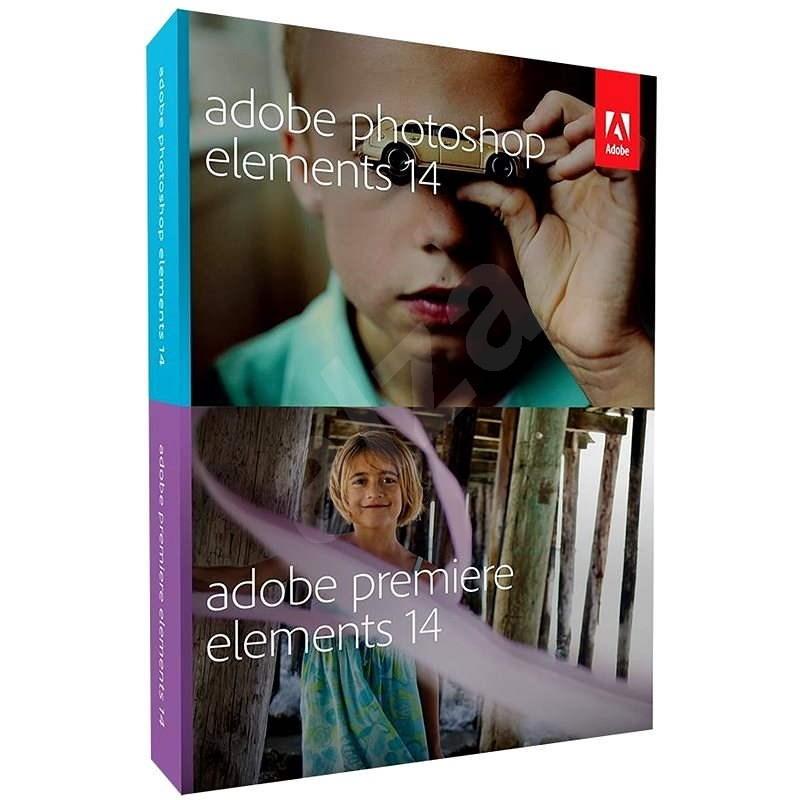 Adobe Photoshop Elements 14 + Premiere Elements 14 ENG - Grafický program
