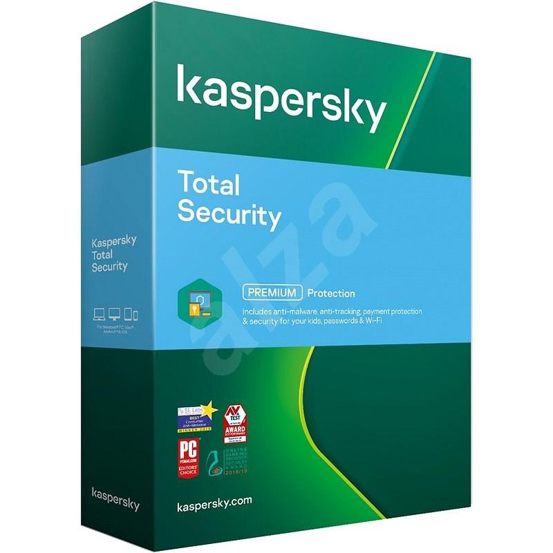 Kaspersky Total Security pre 1 PC na 12 mesiacov, nový (BOX) - Internet Security