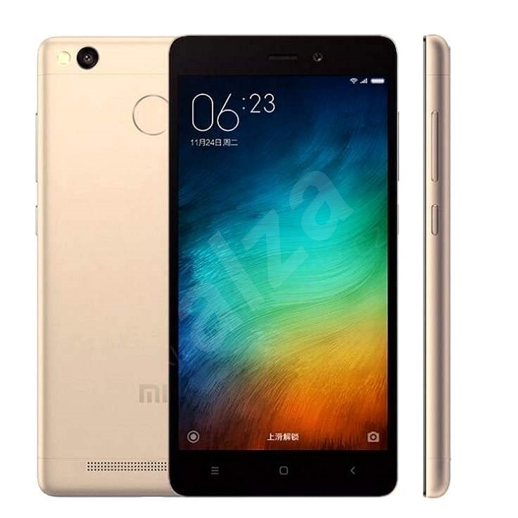 Xiaomi Redmi 3S LTE 32 GB Gold - Mobilný telefón