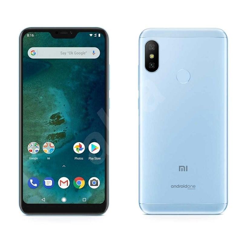 Xiaomi Mi A2 Lite 64 GB LTE Modrý - Mobilný telefón