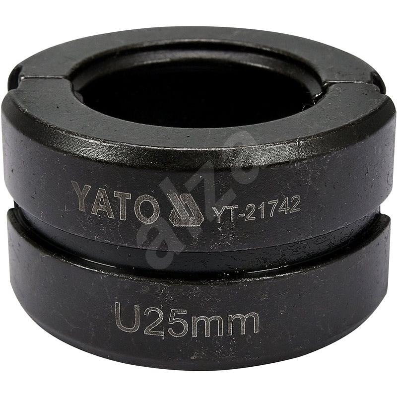YATO typ U 25 mm k YT-21735 - Lisovacie čeľuste