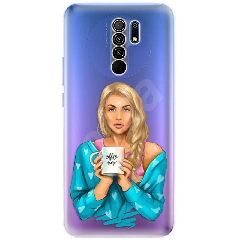 iSaprio Coffe Now – Blond pre Xiaomi Redmi 9 - Kryt na mobil