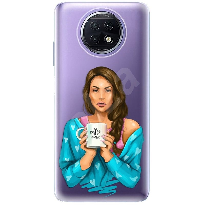 iSaprio Coffe Now – Brunette pre Xiaomi Redmi Note 9T - Kryt na mobil
