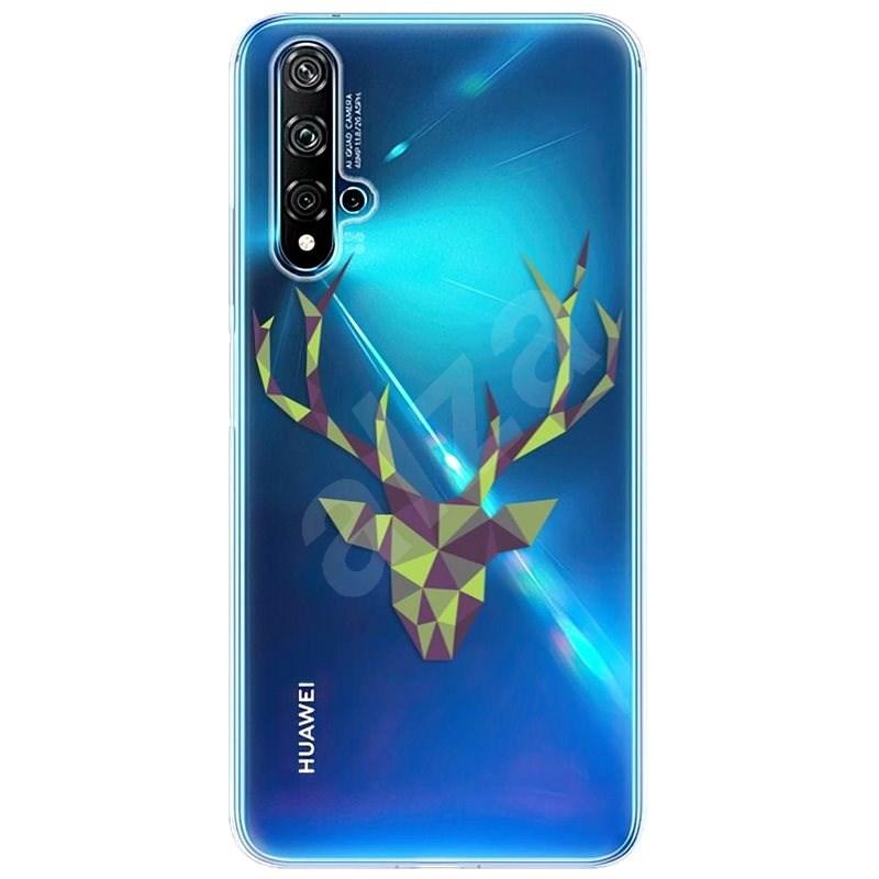 iSaprio Deer Green na Huawei Nova 5T - Kryt na mobil